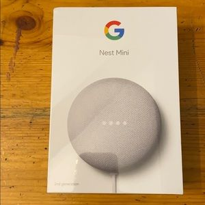 Google Nest Mini 2nd Generation new in packaging